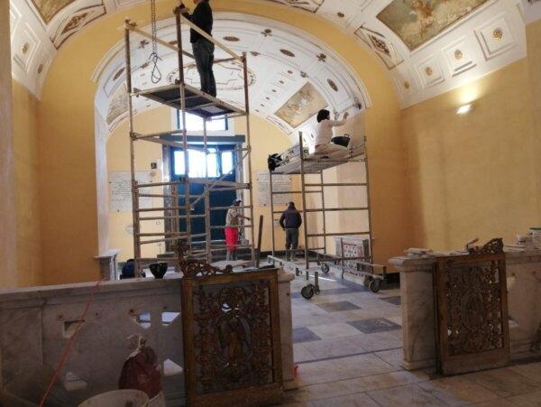 Chiesa-Santa-Maria-luce prima-restauro-Napoli