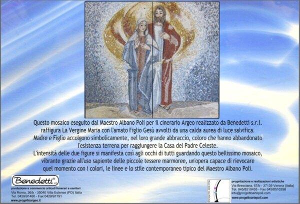 Commento Artistico cinerario Maria e Gesù