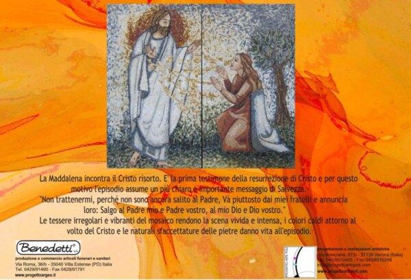 Commento-Artistico cinerario-Cristo-Maria-Maddalena